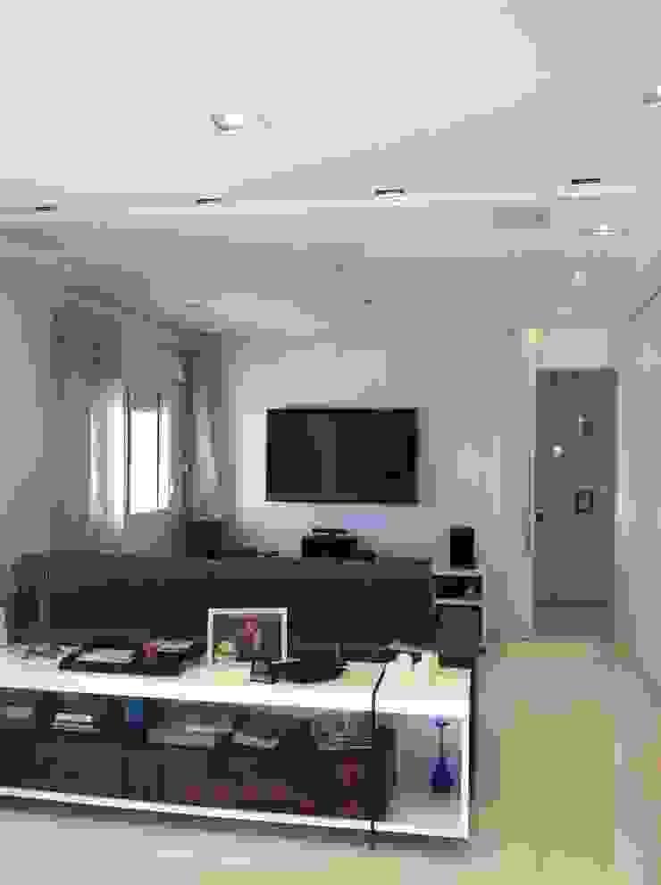 Apartamento Condomínio Central Park – Mooca Salas de estar modernas por Projetual Arquitetura Moderno