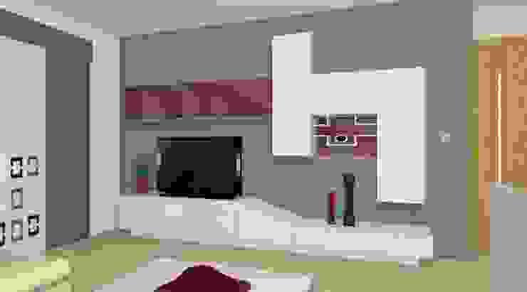 Mueble Salón Salones de estilo moderno de ALBERT MUEBLES S.L. Moderno