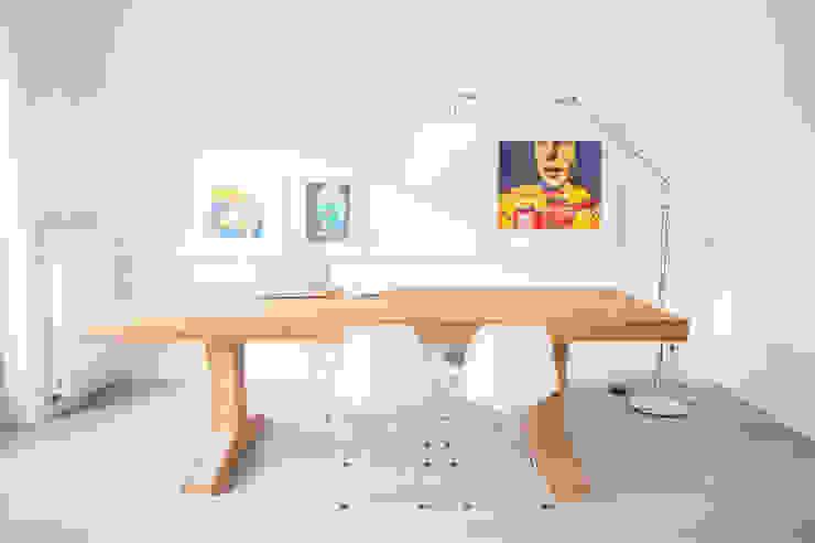 Woonhuis Laren:  Eetkamer door ontwerpplek, interieurarchitectuur, Modern