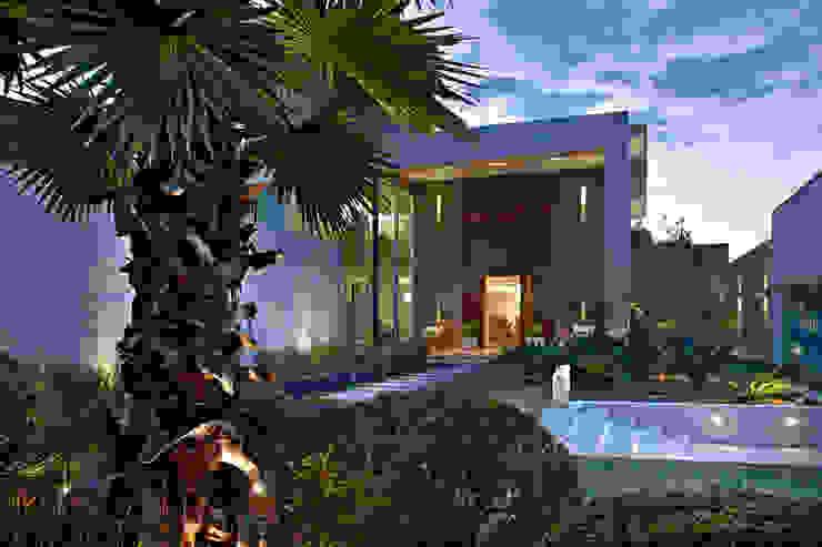 Casas de estilo  por Gláucia Britto