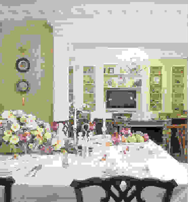 ул. Маршала Тимошенко Столовая комната в классическом стиле от Prosperity Классический