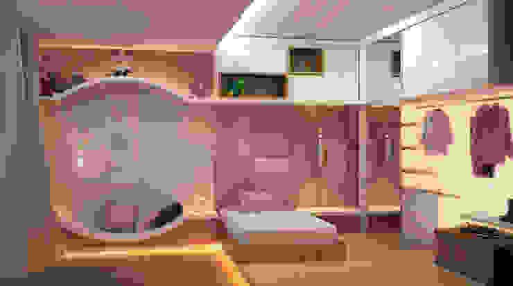 Phòng trẻ em phong cách hiện đại bởi CASA DE PROJETOS Hiện đại