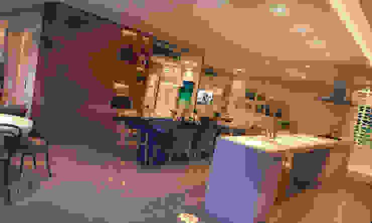 LIVING 03 Salas de estar modernas por CASA DE PROJETOS Moderno