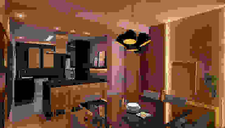 CASA DE PROJETOS Modern Living Room