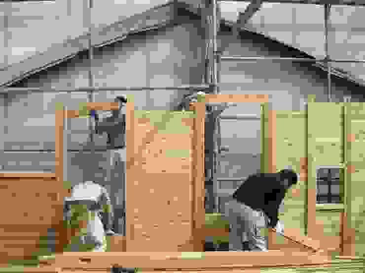 落とし板の施工 日本家屋・アジアの家 の 中村茂史一級建築士事務所 和風