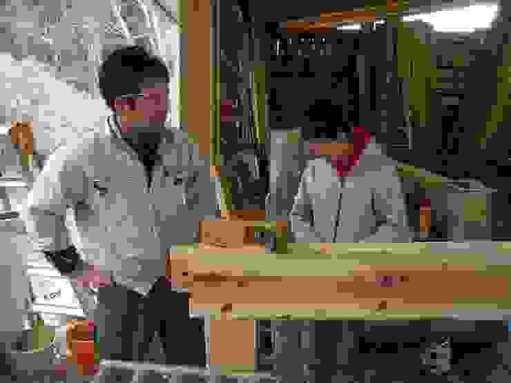 刻み風景7 日本家屋・アジアの家 の 中村茂史一級建築士事務所 和風