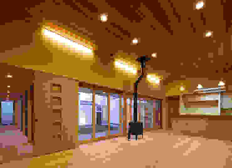 姫路市T邸 オリジナルデザインの リビング の 空間工房 用舎行蔵 一級建築士事務所 オリジナル