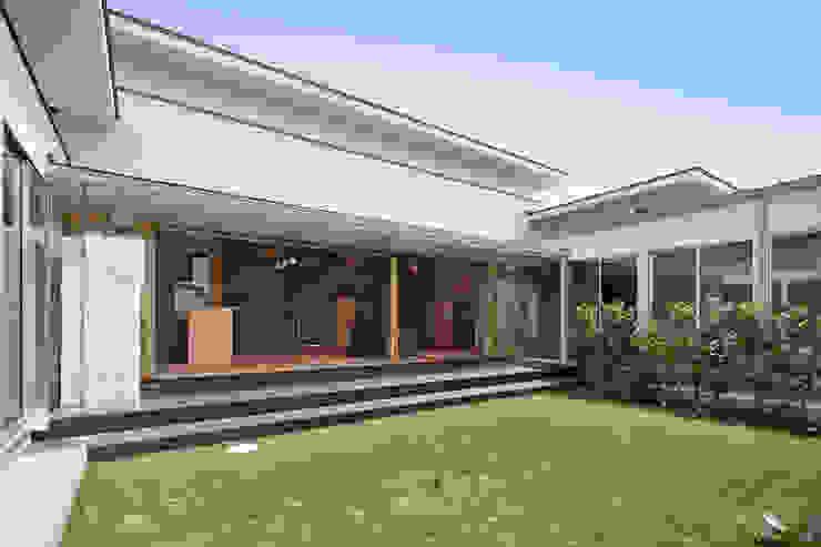 姫路市T邸 モダンな庭 の 空間工房 用舎行蔵 一級建築士事務所 モダン