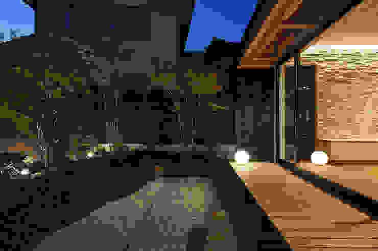 京都市Tn邸 アジア風 庭 の 空間工房 用舎行蔵 一級建築士事務所 和風