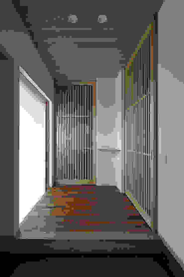 京都市Tn邸 和風の 玄関&廊下&階段 の 空間工房 用舎行蔵 一級建築士事務所 和風