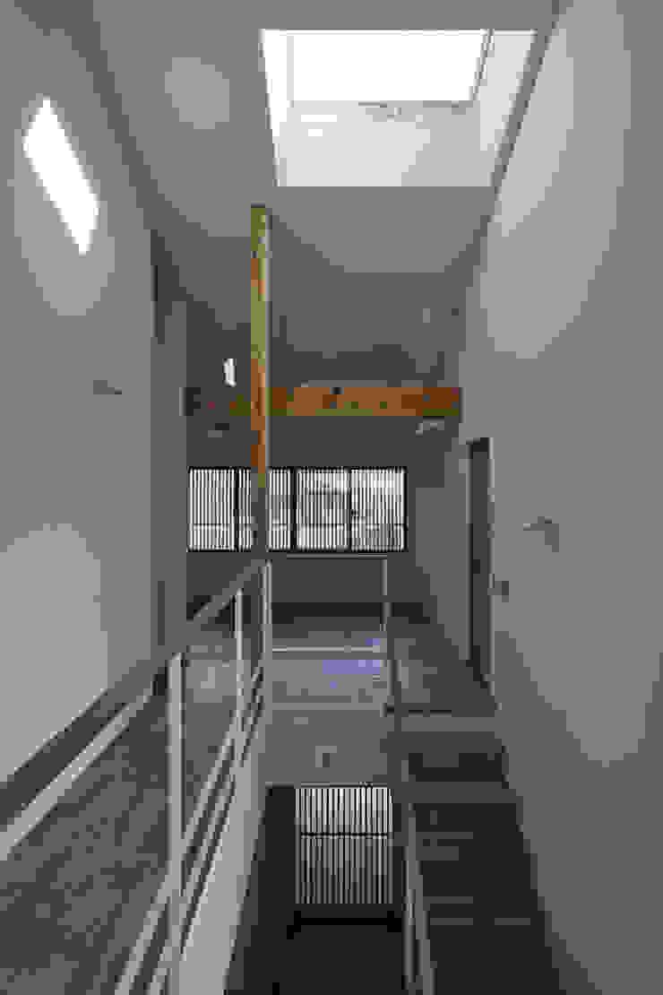京都市Tn邸 モダンスタイルの 玄関&廊下&階段 の 空間工房 用舎行蔵 一級建築士事務所 モダン