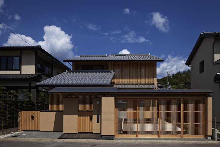 Casas de estilo  de 空間工房 用舎行蔵 一級建築士事務所