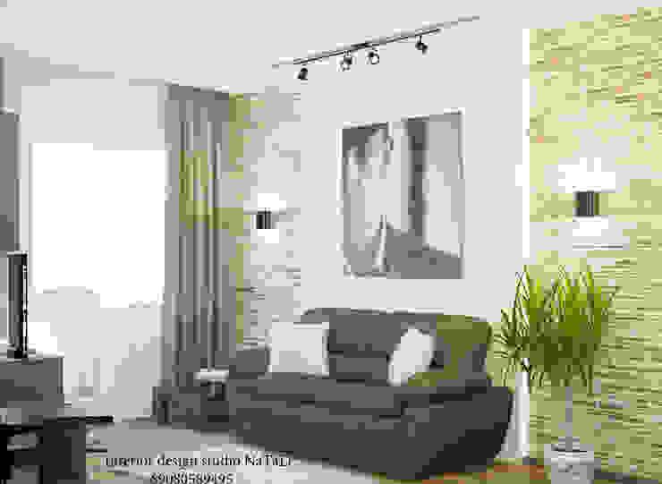 Дизайн квартиры в современном стиле Студия дизайна Натали Рабочий кабинет в стиле модерн