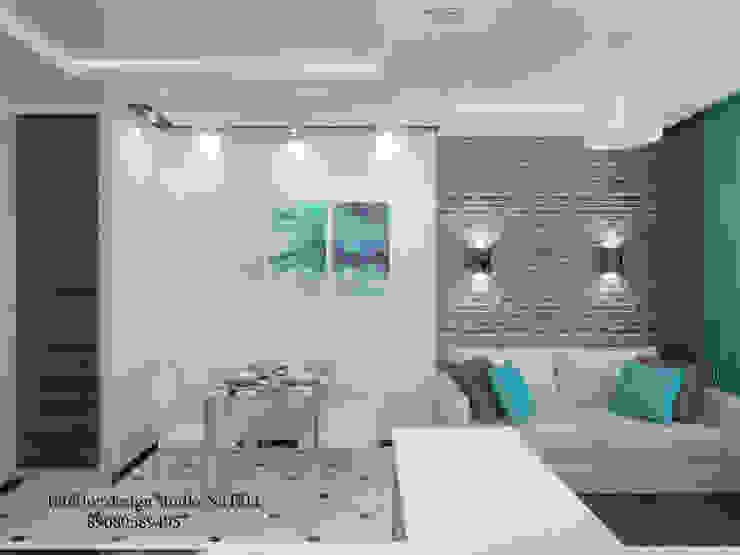 Дизайн квартиры в современном стиле Студия дизайна Натали Гостиная в стиле модерн