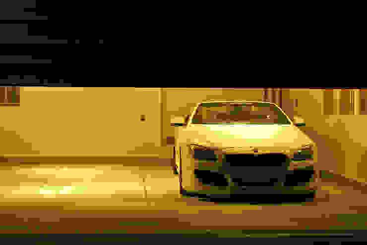 Garasi Modern Oleh 西川真悟建築設計 Modern