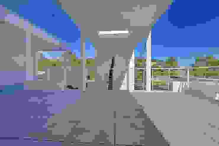 TERRASSE Balcon, Veranda & Terrasse modernes par JOSE MARCOS ARCHITECTEUR Moderne