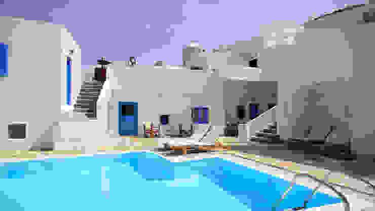 Piscina color blanco RENOLIT ALKORPLAN2000 Piscinas de estilo mediterráneo de RENOLIT ALKORPLAN Mediterráneo