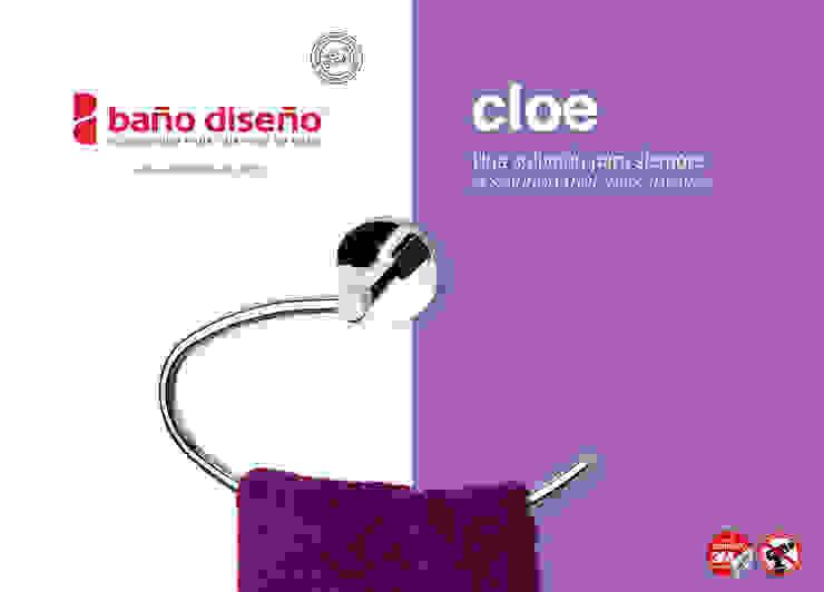 Colección CLOE - accesorios de baño adhesivos - Baño Diseño de Baño Diseño Moderno