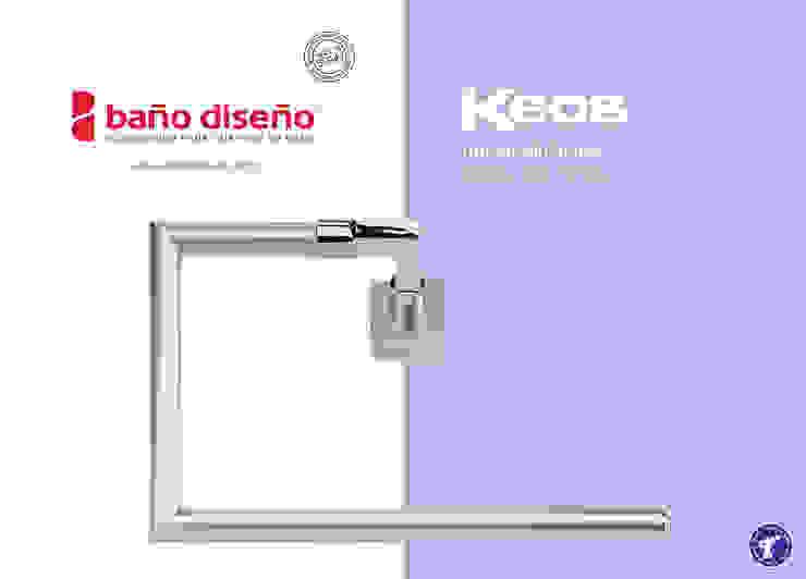 Colección KEOS - accesorios de baño - Baño Diseño de Baño Diseño Minimalista