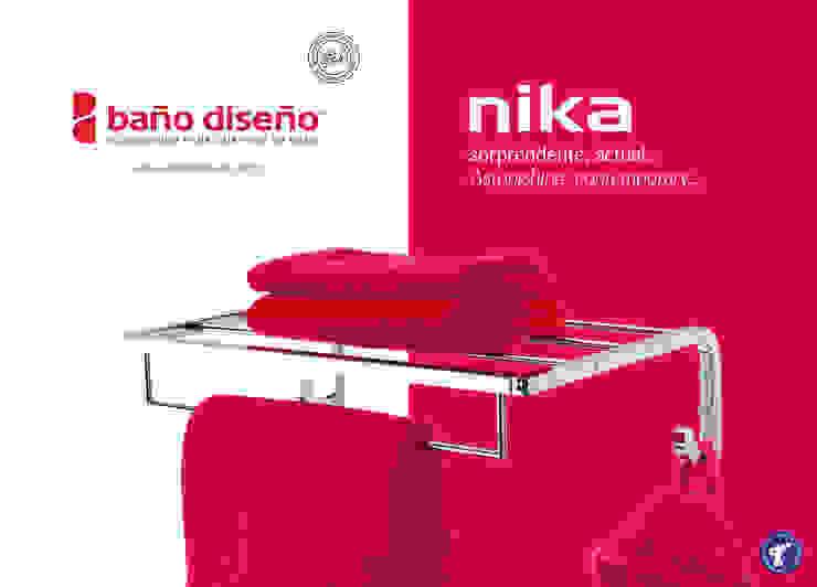 Colección NIKA - accesorios de baño - Baño Diseño de Baño Diseño Moderno