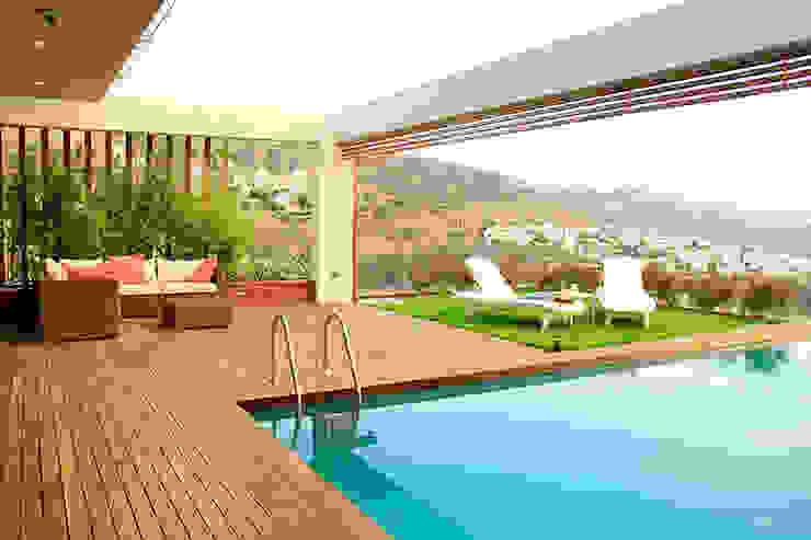 Zen Bodrum Modern Pool by ARTHUR&MILLER Modern