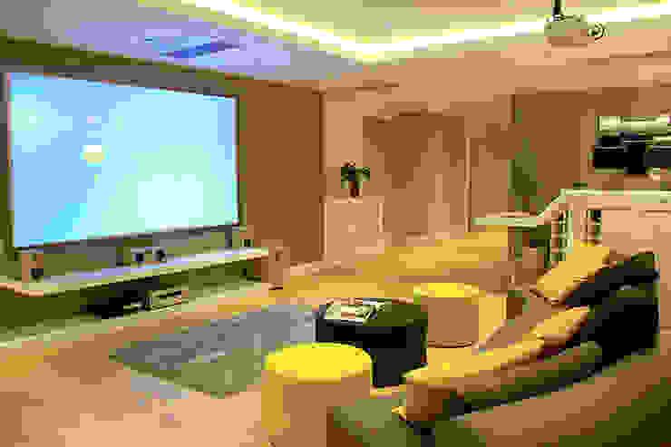 ZEN BODRUM Modern Multimedya Odası ARTHUR&MILLER Modern