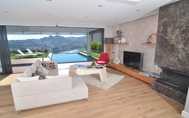 ZEN BODRUM Modern Oturma Odası ARTHUR&MILLER Modern