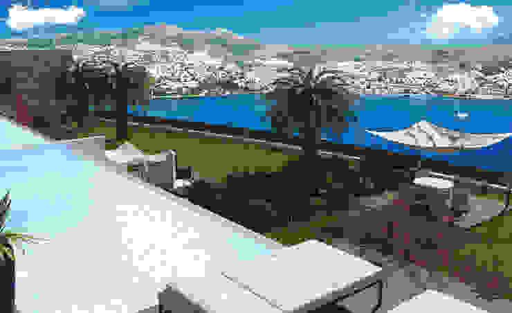 Novo Maison Bodrum Modern Balkon, Veranda & Teras ARTHUR&MILLER Modern