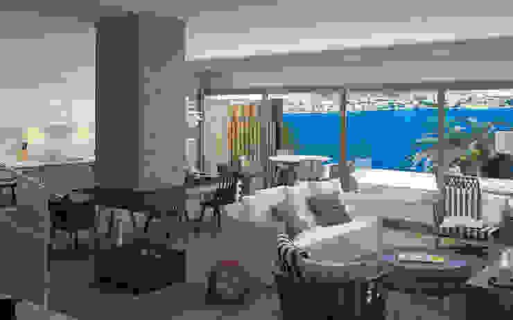 Modern Living Room by ARTHUR&MILLER Modern