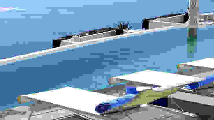 Piscina color gris claro RENOLIT ALKORPLAN2000 Piscinas de estilo mediterráneo de RENOLIT ALKORPLAN Mediterráneo
