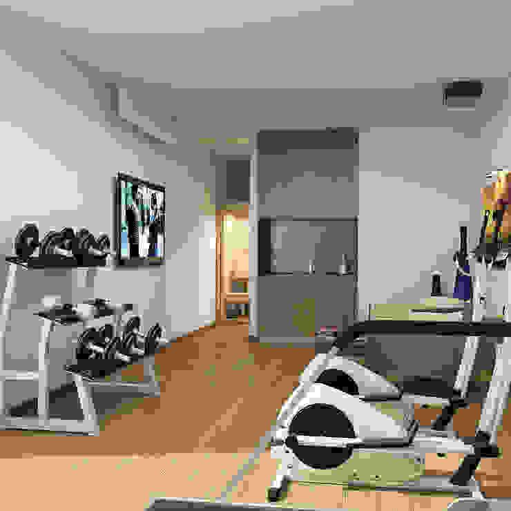 Novo Maison Bodrum Modern Fitness Odası ARTHUR&MILLER Modern