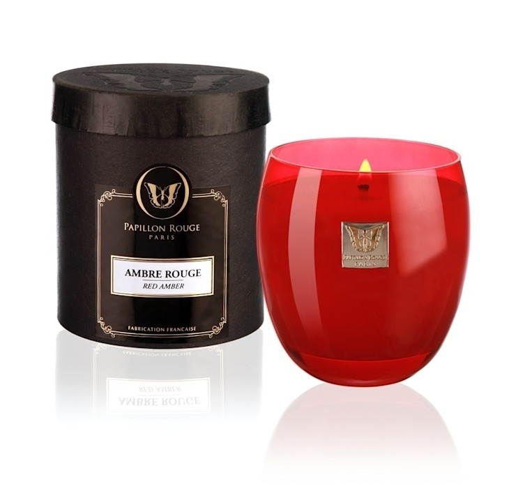 Bougie Papillon Rouge Collection Opaline : + de 40 parfums sans CMR par Papillon Rouge Classique