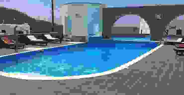 Piscina color Carrara RENOLIT ALKORPLAN3000 Piscinas de estilo mediterráneo de RENOLIT ALKORPLAN Mediterráneo