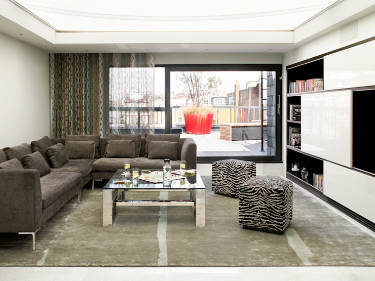 Living room Modern Oturma Odası Holloways of Ludlow Bespoke Kitchens & Cabinetry Modern