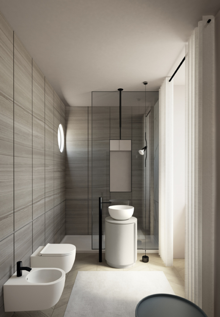 Modern Bathroom by Ceramica Cielo Modern