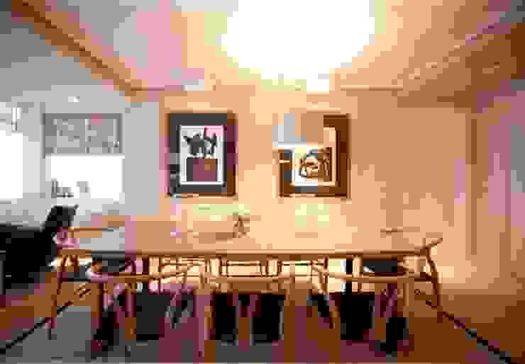 Sube Susaeta Interiorismo - Sube Contract diseño interior de casa con gran cocina Comedores de estilo moderno de Sube Susaeta Interiorismo Moderno