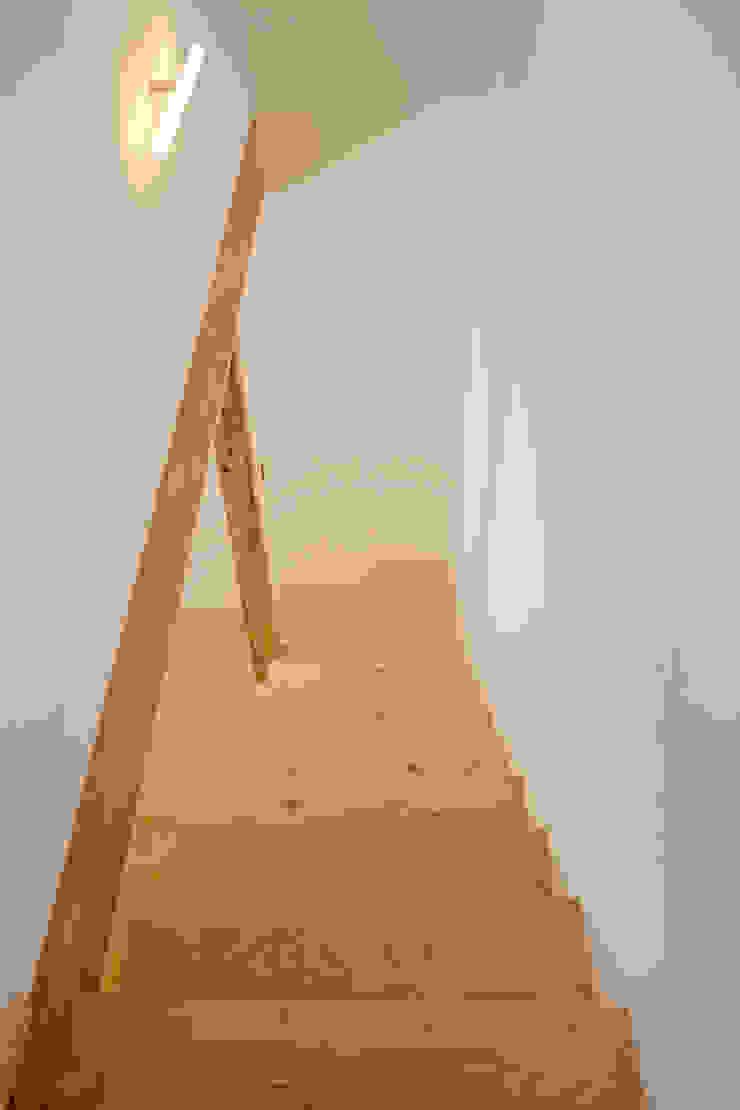 階段−1 ミニマルスタイルの 玄関&廊下&階段 の 有限会社クリエデザイン/CRÉER DESIGN Ltd. ミニマル