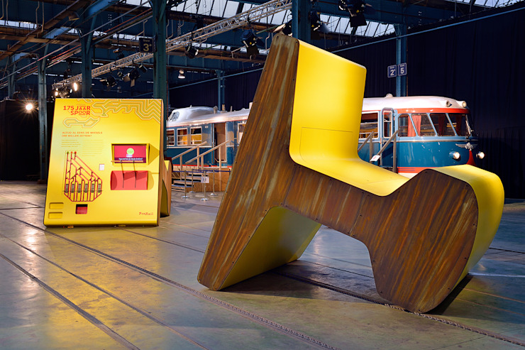 Pro Rail Moderne exhibitieruimten van thisisjane Modern