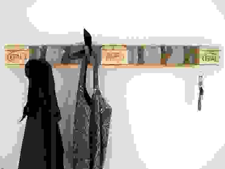 Design Garderobe aus Paletten M. Flur, Diele & TreppenhausKleiderständer und Garderoben
