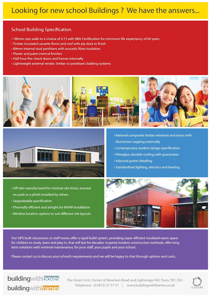 Looking for a New School Modern schools by Building With Frames Modern