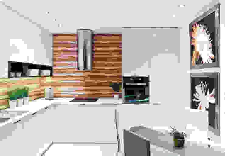 II Realizacja kuchenna na Osiedlu Apartamenty Generalska w Opolu od Meble Ideal Nowoczesny
