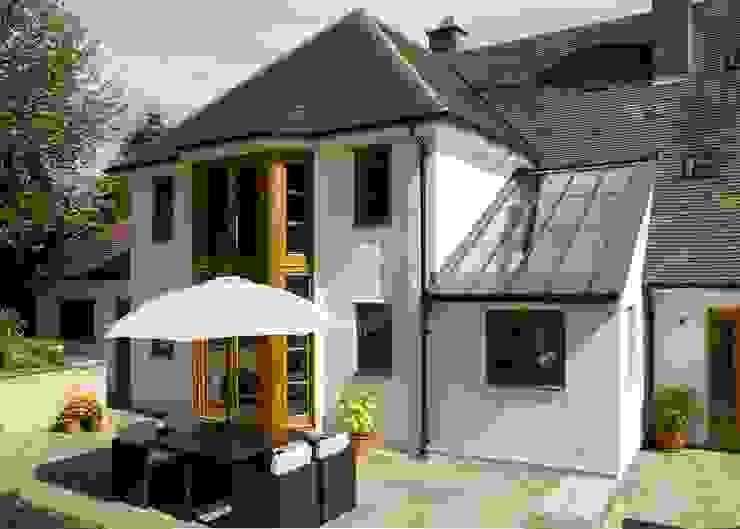 Projekty,  Taras zaprojektowane przez Wildblood Macdonald, Wiejski