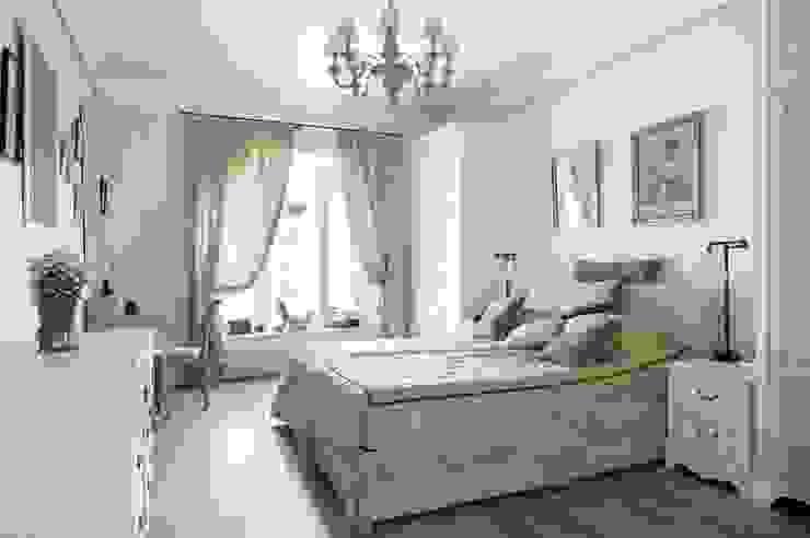 Светлая квартира Спальня в классическом стиле от ANIMA Классический