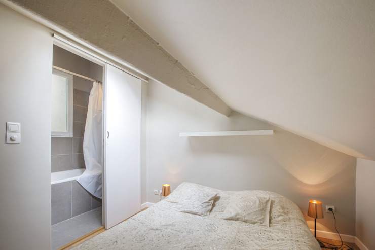 ASILE POPINCOURT 75011 PARIS Chambre moderne par cristina velani Moderne