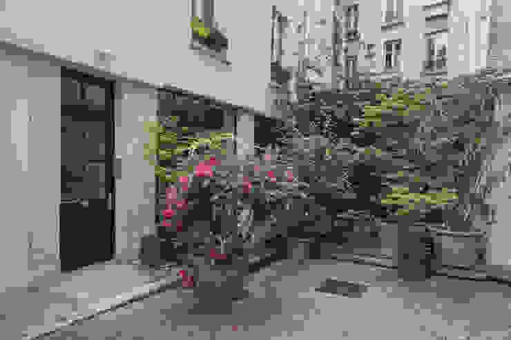 ASILE POPINCOURT 75011 PARIS Jardin moderne par cristina velani Moderne