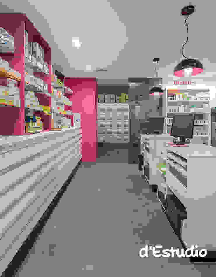 Farmacia Mayor Xirivella | Consejo Farmacéutico Espacios comerciales de estilo moderno de Destudio Arquitectura Moderno