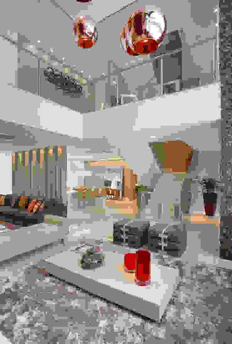 Sala de Estar Salas de estar modernas por Studio Claudia Pimenta e Patricia Franco Decoração de Interiores Moderno