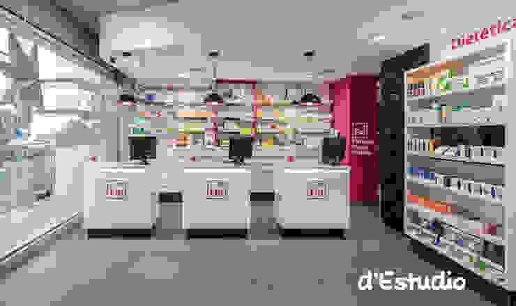Farmacia Mayor Xirivella | Mostradores Espacios comerciales de estilo moderno de Destudio Arquitectura Moderno