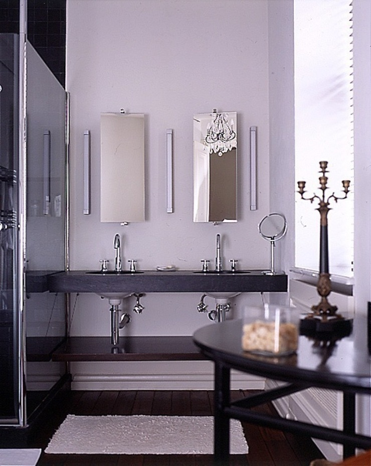 Квартира на Никитской Ванная комната в стиле модерн от ANIMA Модерн