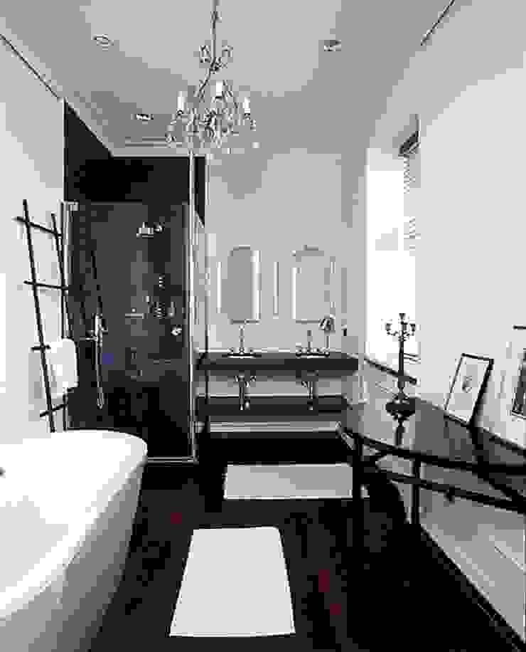 Квартира на Никитской Ванная комната в эклектичном стиле от ANIMA Эклектичный